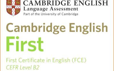 B2 FIRST CERTIFICATE IN ENGLISH- CURSO ONLINE DE PREPARACIÓN PARA EL EXAMEN
